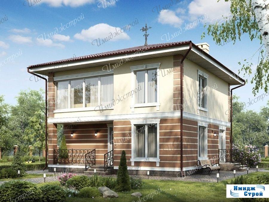 Красивый проект дома