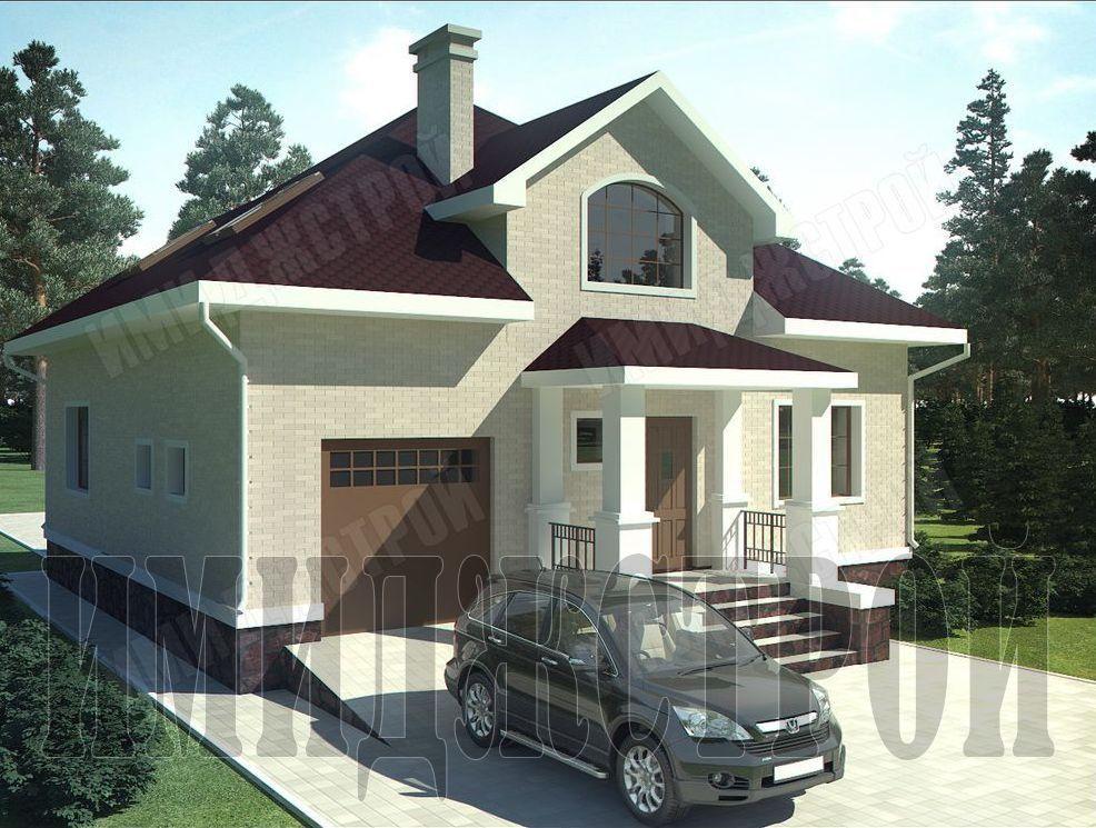 Коттедж с гаражом в Нагаево 175 кв.м.