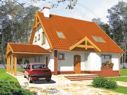Ума - эргономичный европейский проект дома
