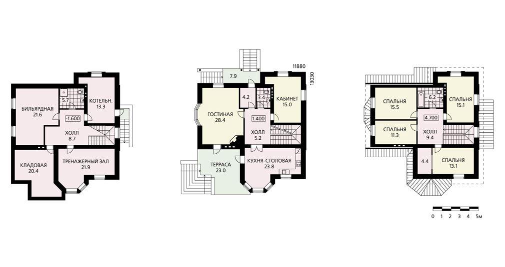 план дома с цокольным этажом фото