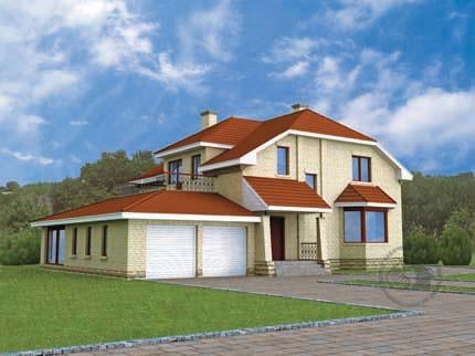 Дом с необычной планировкой