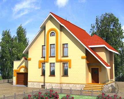 Удобный дом для большой семьи