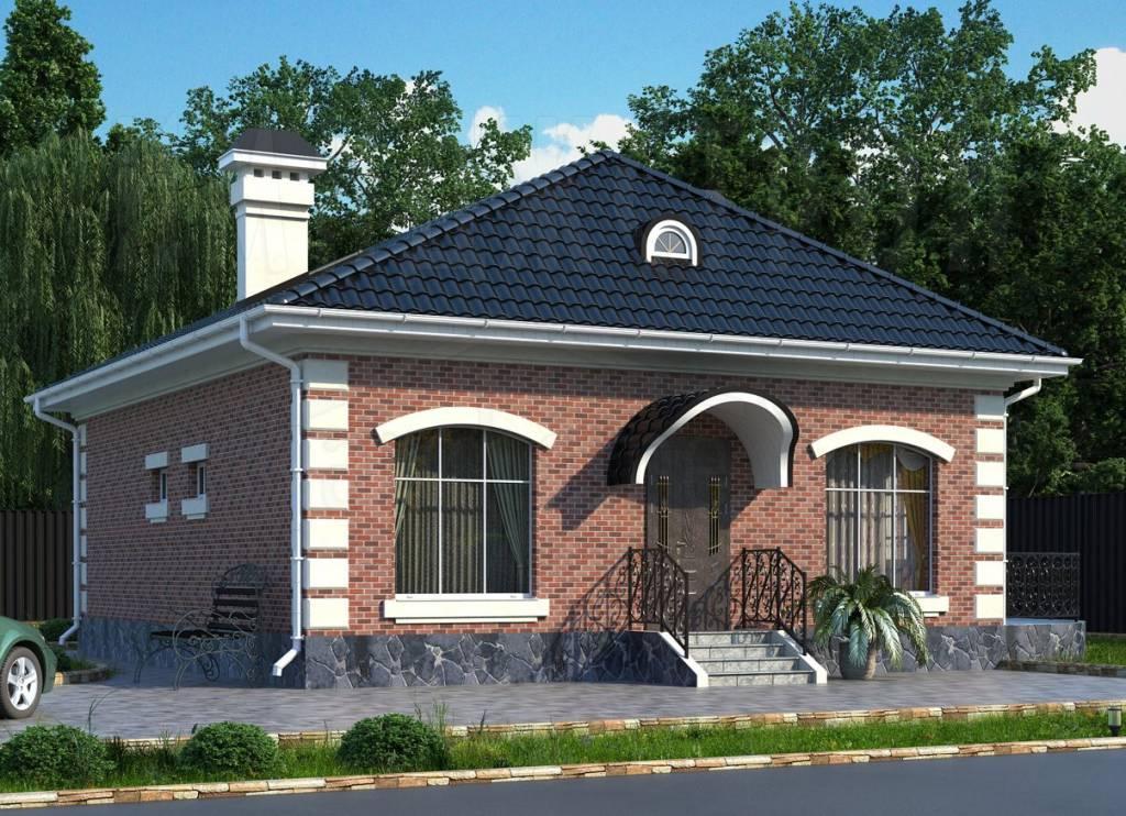 Проект небольшого дома 10 10