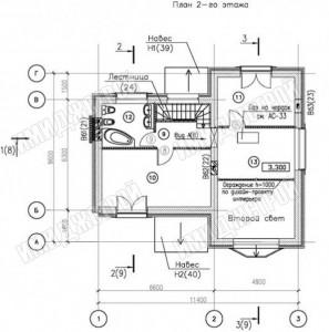 Классика с французским балкончиком 129 кв.м.