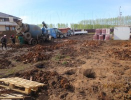 Строительство таунхауса в Нагаево