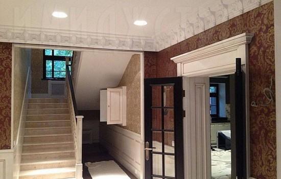 Ремонт фасада и внутри дома Глумилино