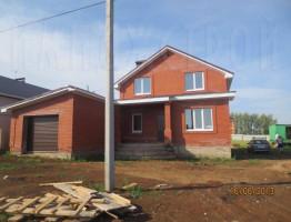 Строим дом из красного облицовочного кирпича