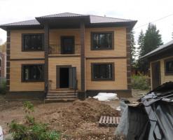 Строительство коттеджа 220 кв.м. в Гастелло