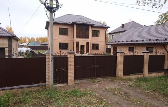 Строительство коттеджа в Булкаково