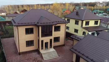 Строительство коттеджа 220 кв.м.