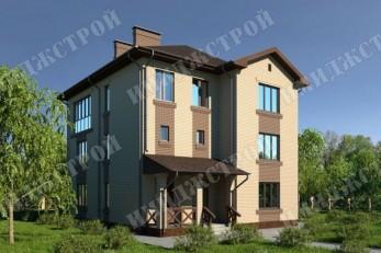 Дом в три уровня