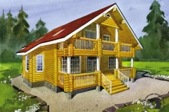 Традиционный бревенчатый дом
