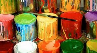 Отделка красками и лаками