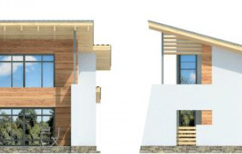 Дом в стиле неомодерна