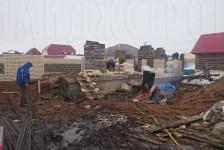 Процесс постройки дома