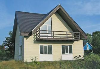Очень простой домик с незамысловатым планом