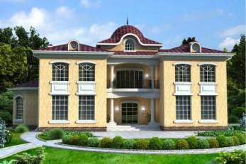 Дом в баварском стиле на 435 квадрата