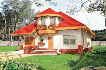 Максим-эргономичный дом в этническом стиле