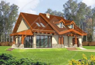 Уютный дом с террасой