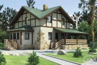 Дом с квадратным планом