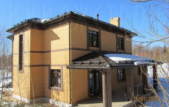 Дом из керамического камня
