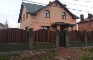 Готовый дом в процессе сдачи