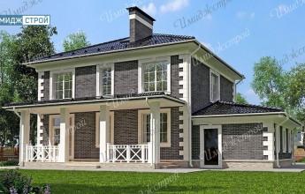 Проект усадьба Нагаево 210 кв.м.