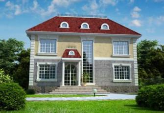 Проект большого дома на 485 квадратов