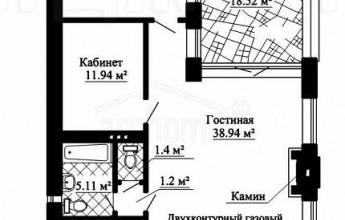 Проект небольшого одноэтажного коттеджа на 105 квадратов