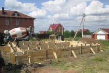 Участок перед началом строительства