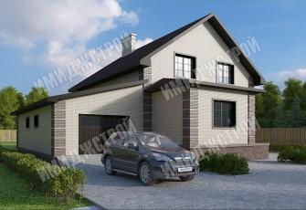 Мансардный дом с гаражом 244 кв. м.