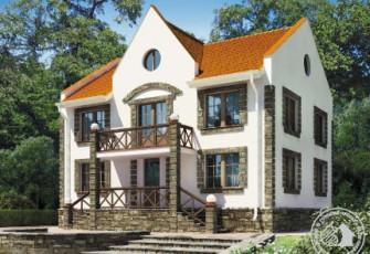 Дом в английском стиле