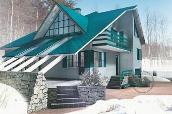 Дом с удобным небольшим планом
