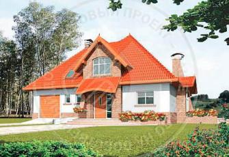 Мелания - красочный дом в голландском стиле