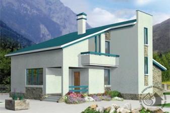Дом с лаконичными фасадами