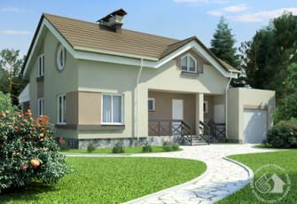 Дом с двусторонней ориентацией