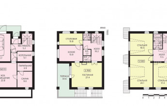 Компактный дом для небольшого участка