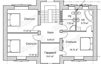 Особняк в Карпово 186 м2