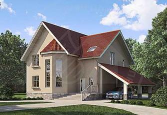 Дом с удобной планировкой