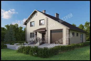 Дом в Алкинские пруды 230 м2