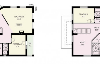 Дом с высоким уровнем комфортности