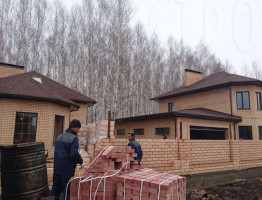 Зимняя стройка 2016. Банный комплекс и коттедж