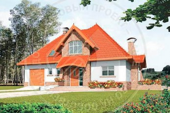 Красочный дом в итальянском стиле