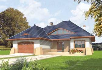Cтильный дом с элементами модерна