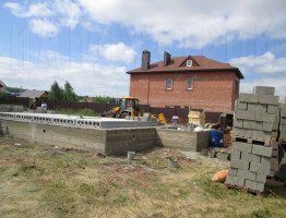 строительство коттеджей из газобетона