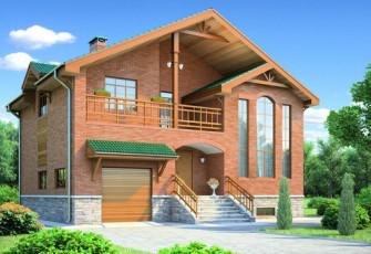 Проект дома Булгаково 222 кв.м.
