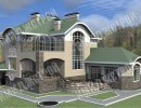 Дом с зимней террасой 481 кв.м.