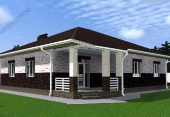 Дом с кухней-гостиной 136 кв.м.