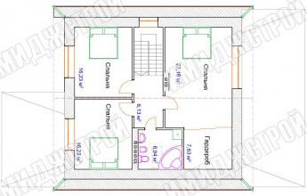 Простой дом 205 кв. м.