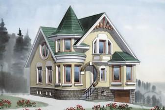 Особняк с изысканными фасадами
